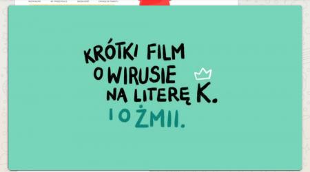 Krótki film o wirusie na literę k